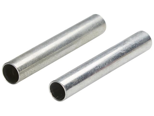 CAMPZ Ersatz Zeltstangenhülse 8 mm 2er Set silber